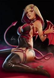Devil Girl by SourAcid