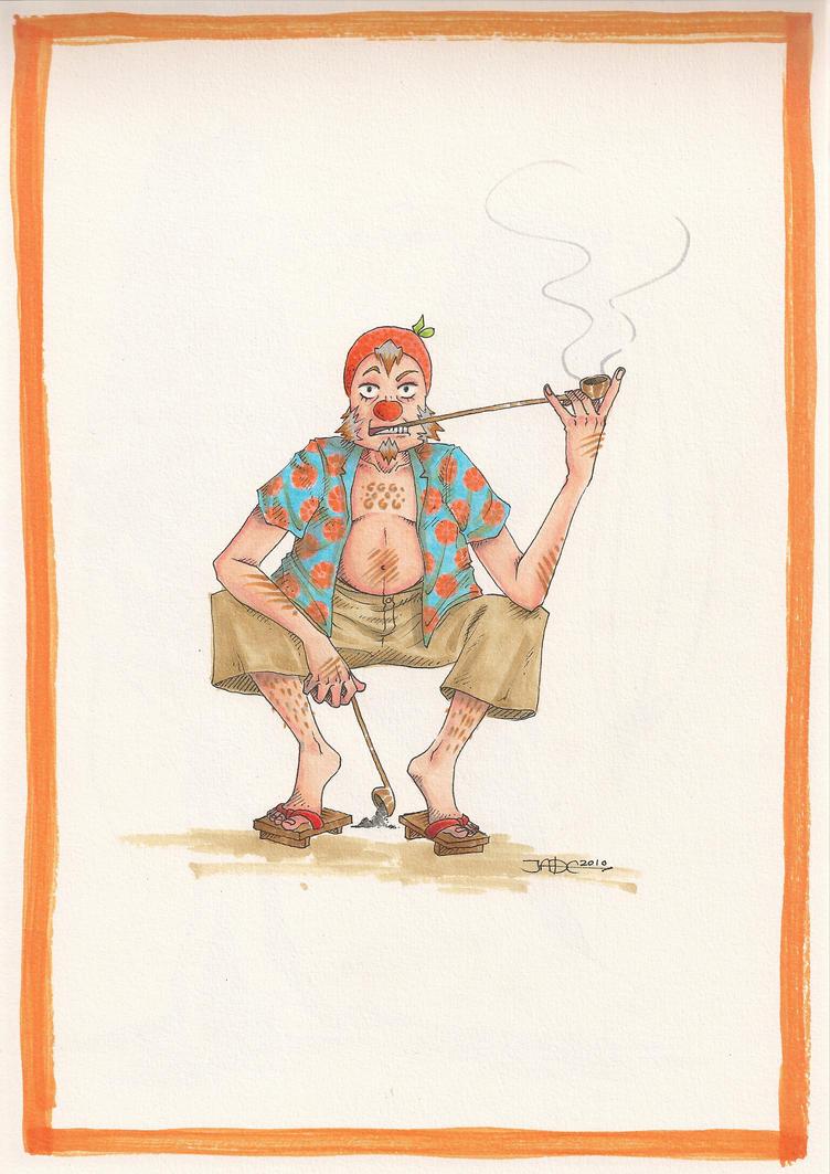 Mister Orangerange by Lycorisu