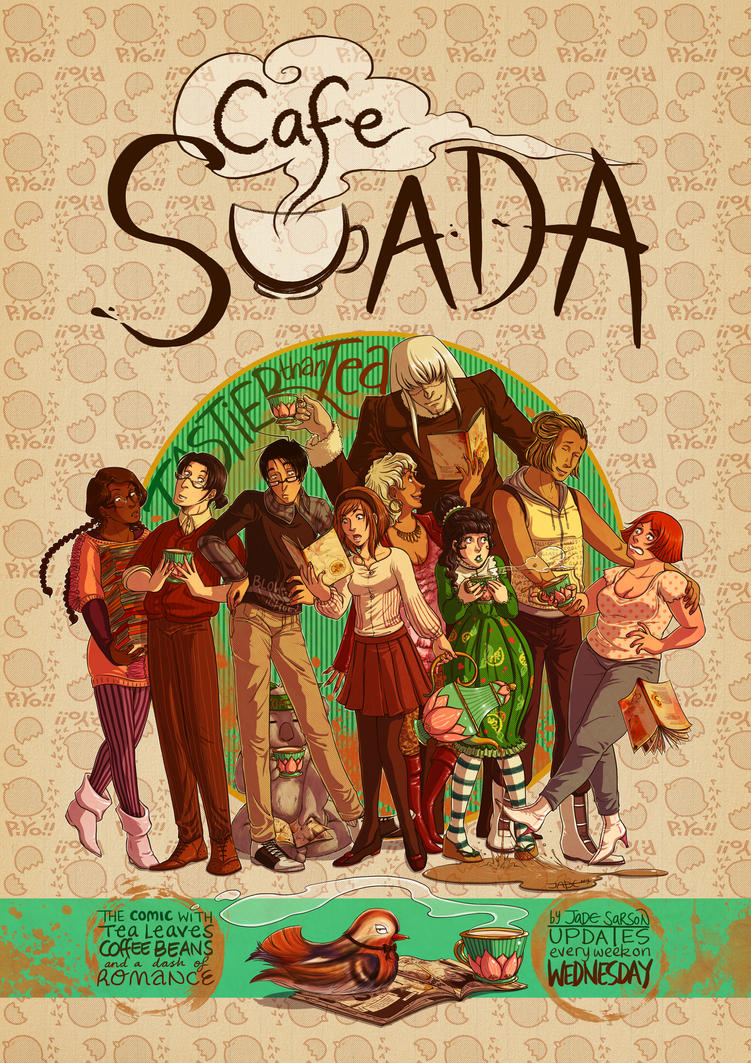 Cafe Suada Poster 2013 by Lycorisu