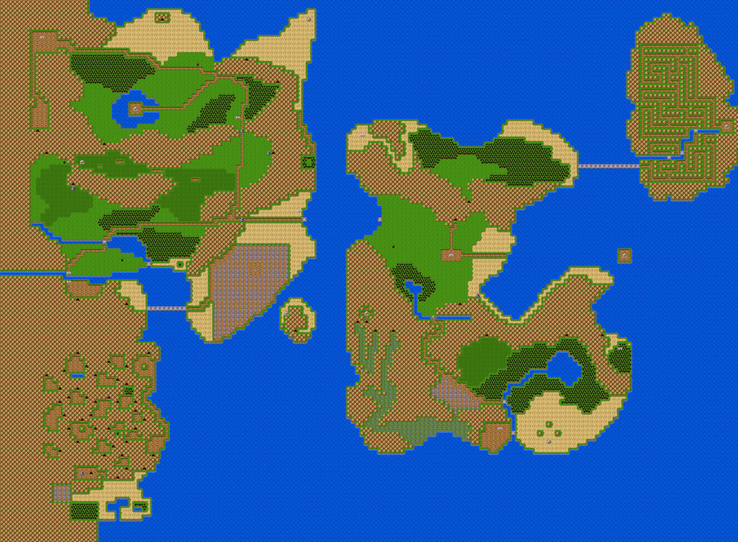 Reupload of legend of zelda 2 world map by shareyourworldwide on reupload of legend of zelda 2 world map by shareyourworldwide gumiabroncs Gallery