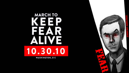 March to Keep Fear Alive by generalofdarkness