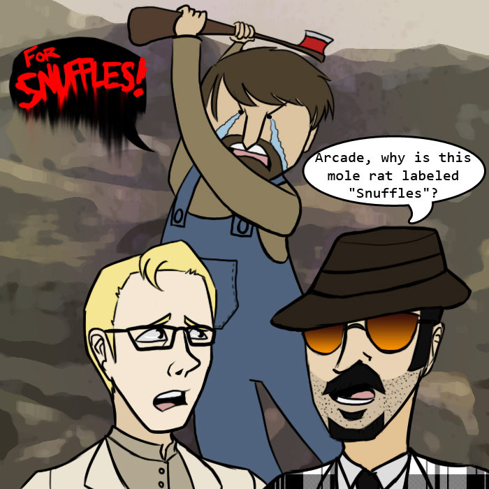 Fallout: New Vegas - Snuffles by generalofdarkness