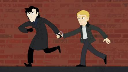 Spoilers - BBC Sherlock and Watson
