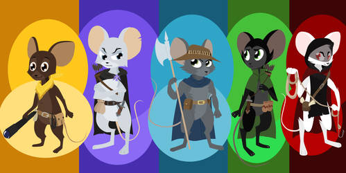 The Heroes of Shaleburrow by generalofdarkness