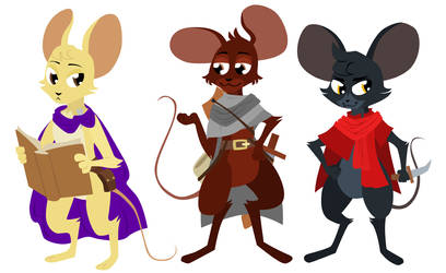 Guard Mice by generalofdarkness