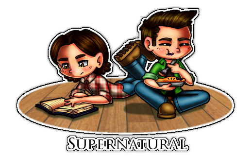 An average day with the Winchesters by CristalMyRabbit