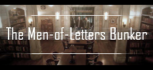 The Men-of-Letters Bunker by CristalMyRabbit