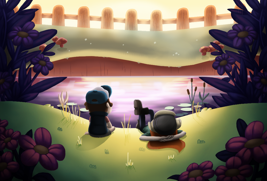Discussion by the creek by CristalMyRabbit