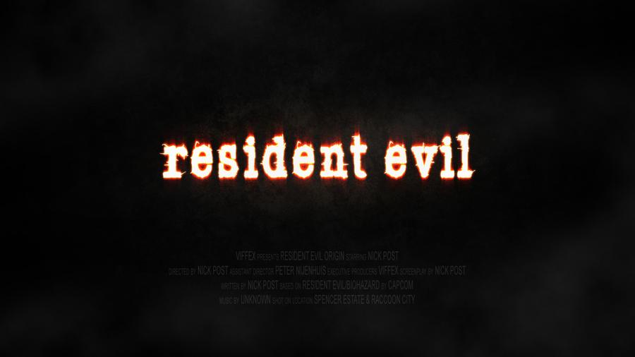 Resident Evil: Origin Logo by ResidentEvilOrigin on deviantART
