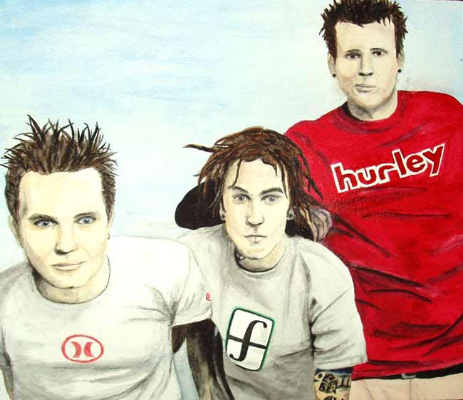 Blink182 by pumapounce182
