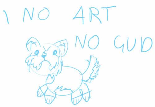 devID - I No Art No Gud by blue-phoenix