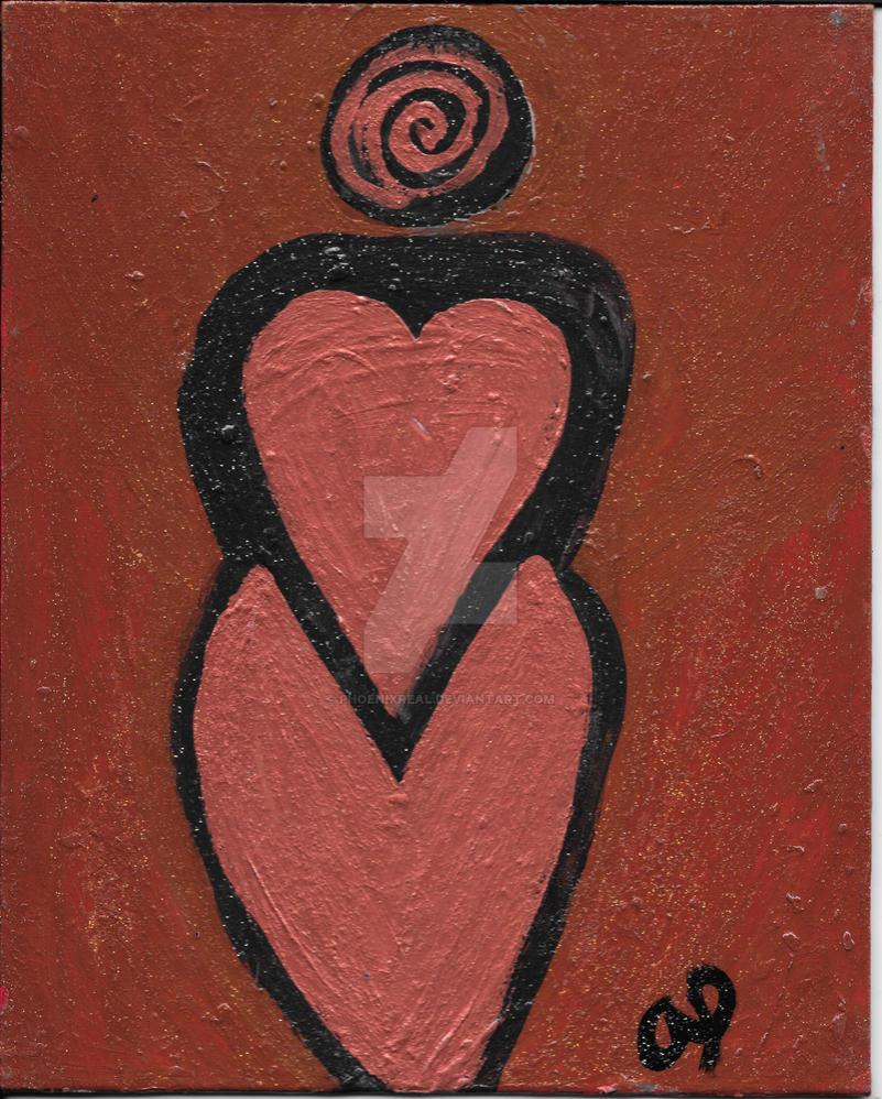 Earth Heart Goddess by phoenixreal