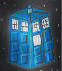 Wibbly Wobbly TARDIS by phoenixreal