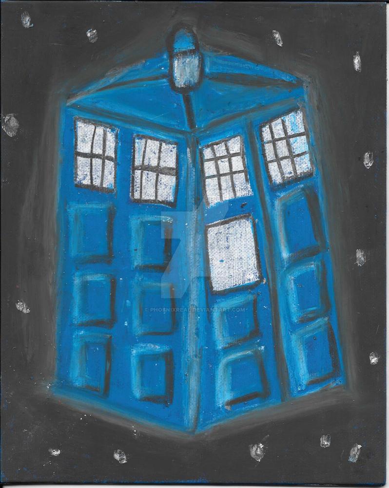 TARDIS by phoenixreal