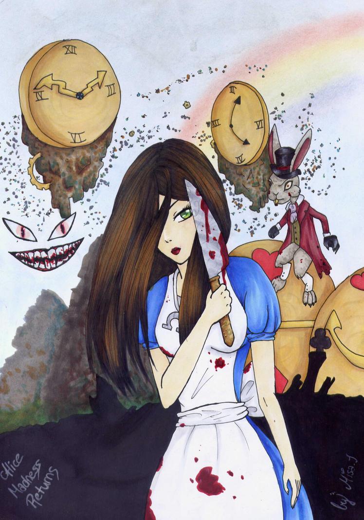 Alice: Madness Returns fanart ^.~ by Misax3Misa