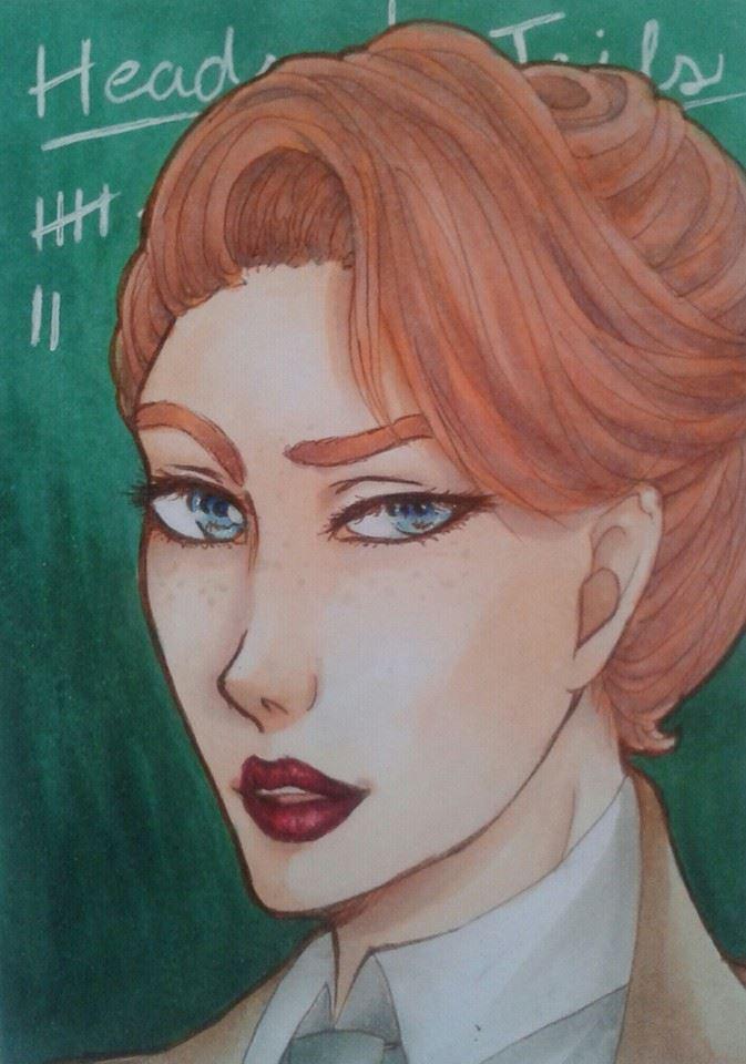 Rosalind Lutece (Bioshock Infinite) ATC by Misax3Misa