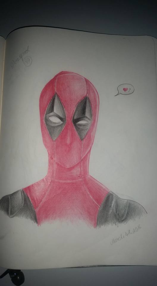 Deadpool by Misax3Misa