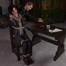 Choose Your Own Gag - Lara Croft by iorel-renders