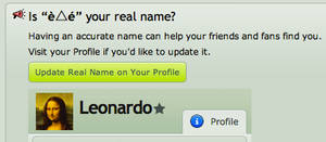 omg of course it's my real name