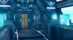 The corridor of the spaceship