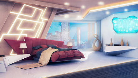 Rich bedroom