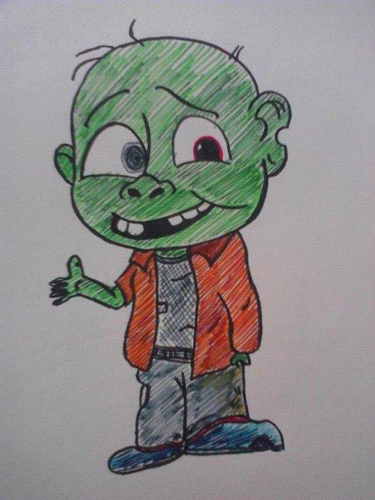 Cartoon Characters Zombies : Pin zombie cartoon characters art on pinterest
