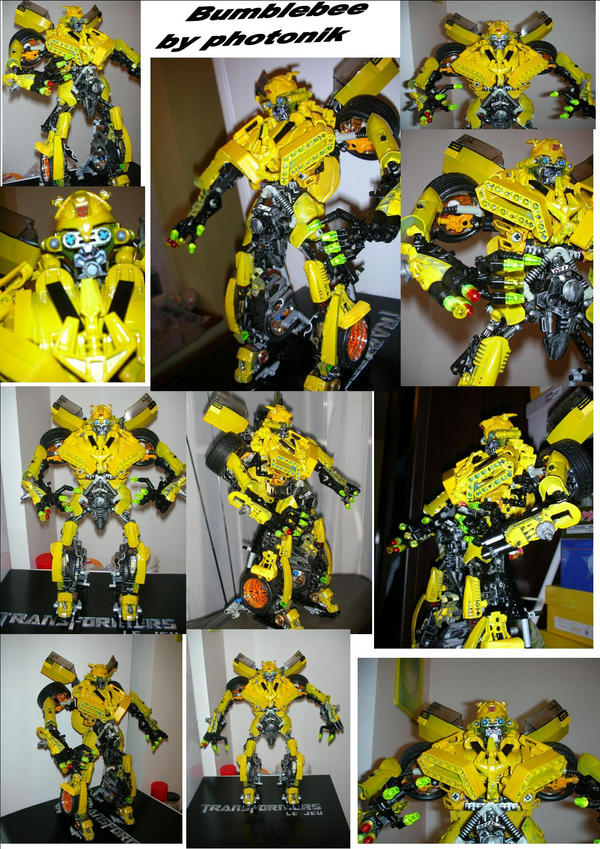Bumblebee Transformers Lego By Photonikfrenzy On Deviantart