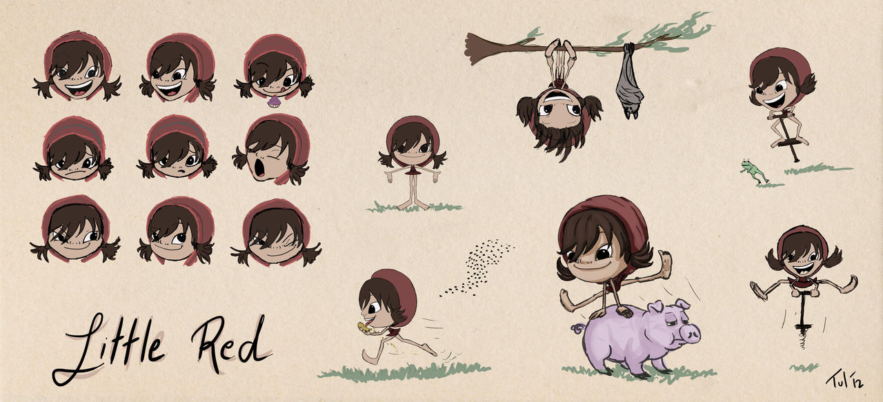 Little Red character sheet by Tul-152