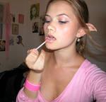 Lipstick on a...