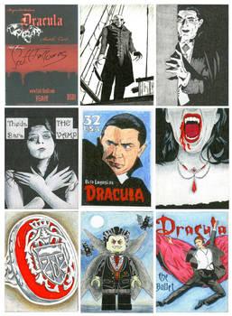 Beyond Dracula Sketch Cards 1
