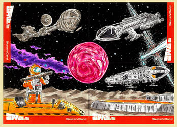 Space 1999 artist proofs 2 by Bowthorpe