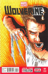 Wolverine sketch cover by Bowthorpe