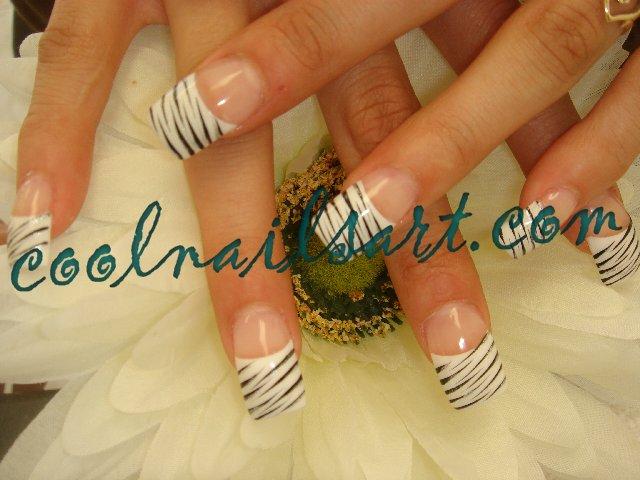 Zebra Nail Design By Thientu83 On Deviantart