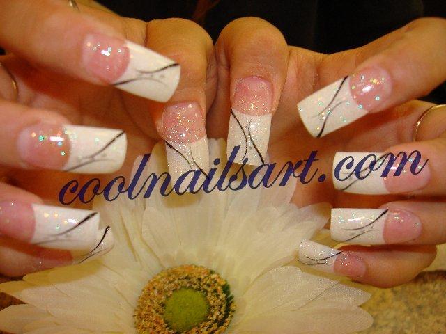 French Tips Nail Design by thientu83 on DeviantArt