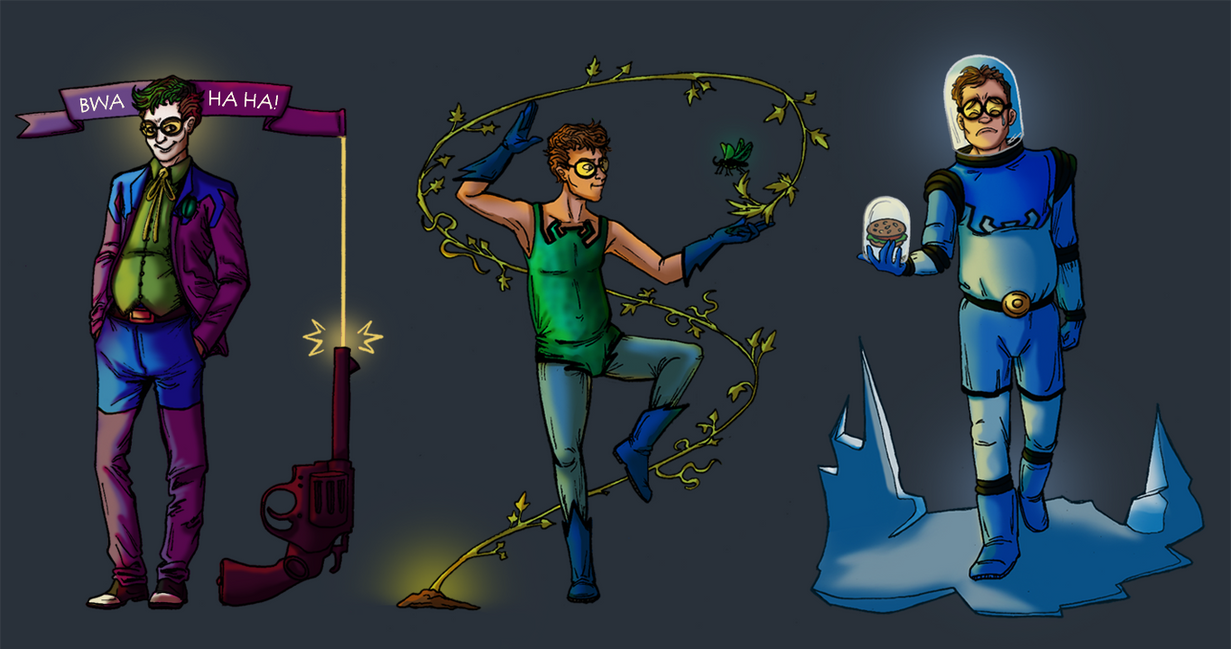 Blue Beetle Crossover Designs by Teq-Uila