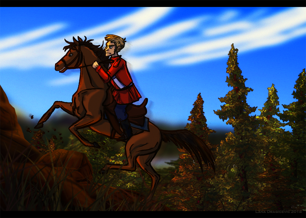 Redcoat West - Scout Duty by Teq-Uila