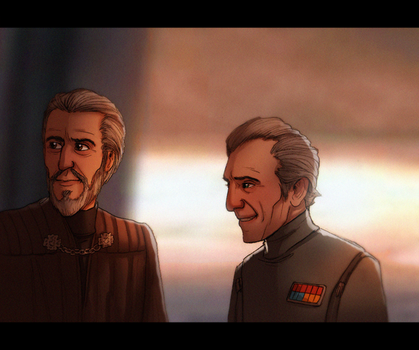 Dooku and Tarkin - Of Friendships Imagined or Real