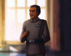 Imperial Calendar 2016: March - Moff Panaka