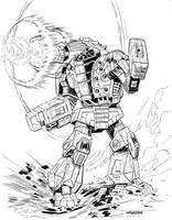 Ryan Allen's Infighter Mech by StridersStrikersTeam