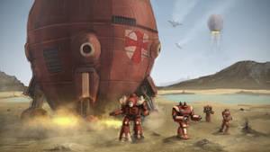 Dropship:  The Crusaders Deploy by StridersStrikersTeam