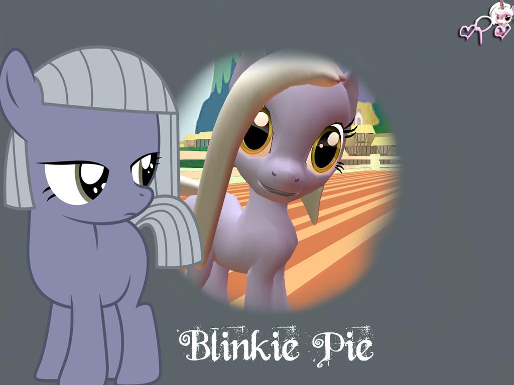 Blinkie Pie by XxthepegasisterxX