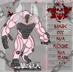 Shingeki no Kyojin OC: Mask Titan