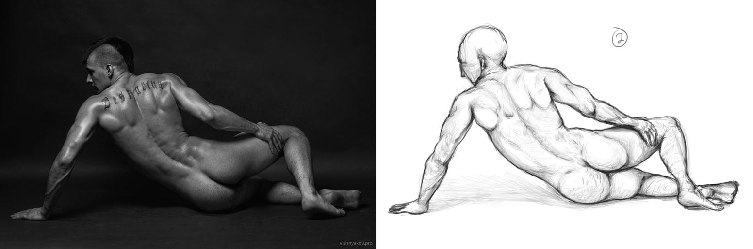 Tumblr Anatomy Practice 2 by OfficialSeme on DeviantArt
