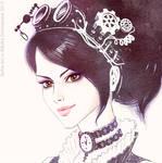 Steampunk Girl (white)