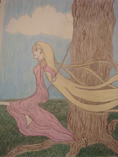 Tangled- Rapunzel by StargazeMoongaze