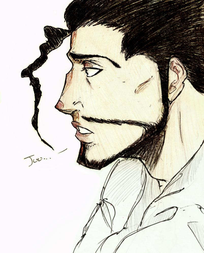 Shunsui Sketch by Gleca