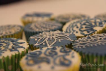 Henna Cupcakes by Kaddiness
