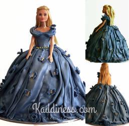 Cinderella Cake by Kaddiness