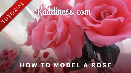 How to Sculpt a Rose by Kaddiness