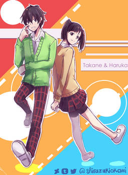 Raffle Request 2 - Haruka and Takane